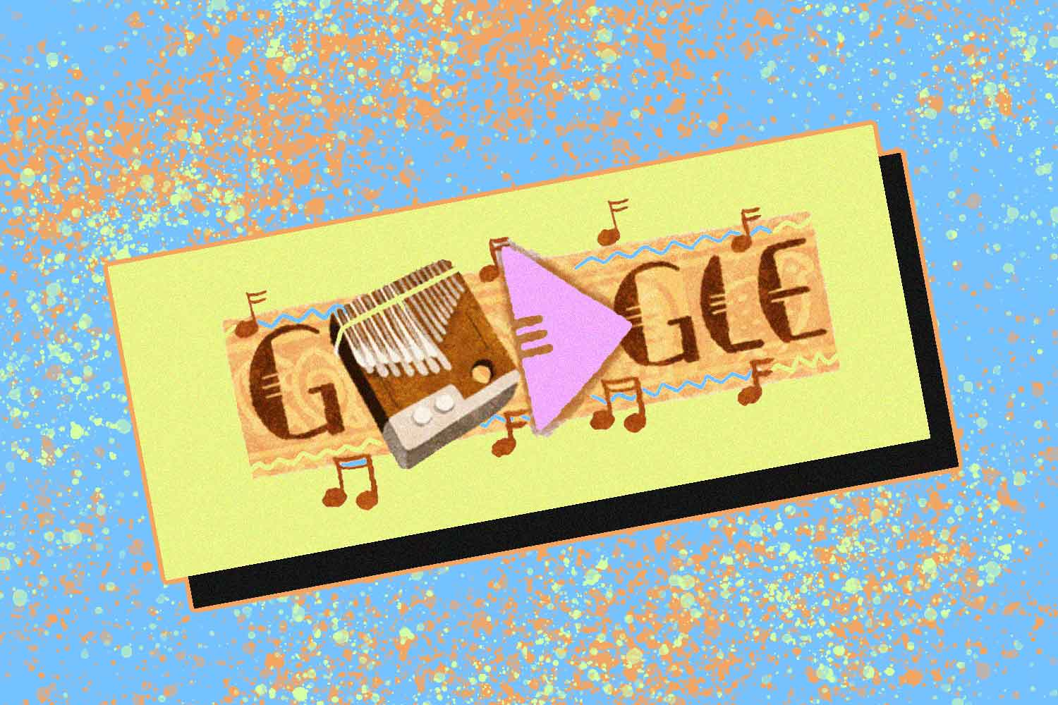 Chill and Play the Zimbabwean Mbira Today with Google Doodle